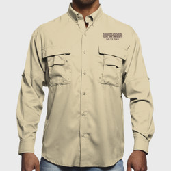 SQ-23 Dad L/S Fishing Shirt