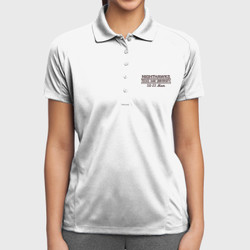 SQ-23 Mom Dri- Mesh Polo