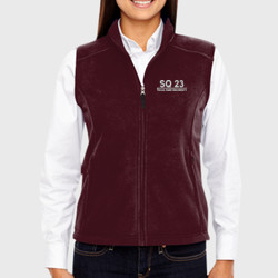SQ-23 Ladies Fleece Vest